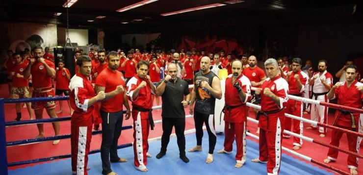 سمینار کیک بوکسینگ در باشگا الف ولنجک با حضور رییس محترم سبک استاد حجازی