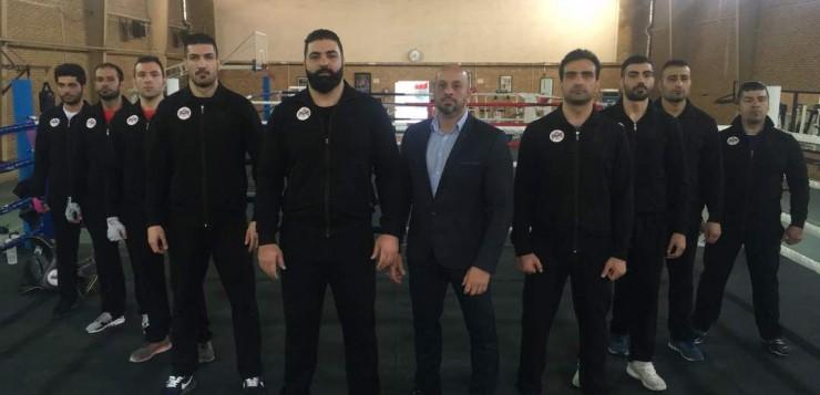 اردو تیم منتخب  ikn کیک بوکسینگ ایران جهت حضور در مسابقات جهانی wkn