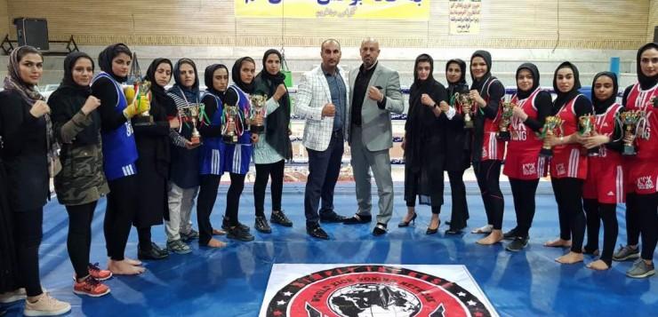 برگزاری مسابقات بهترین بانوان سبک کیک بوکسینگ wkn ایران